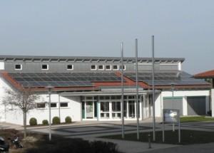 Gemeindehausdach Hohenberg